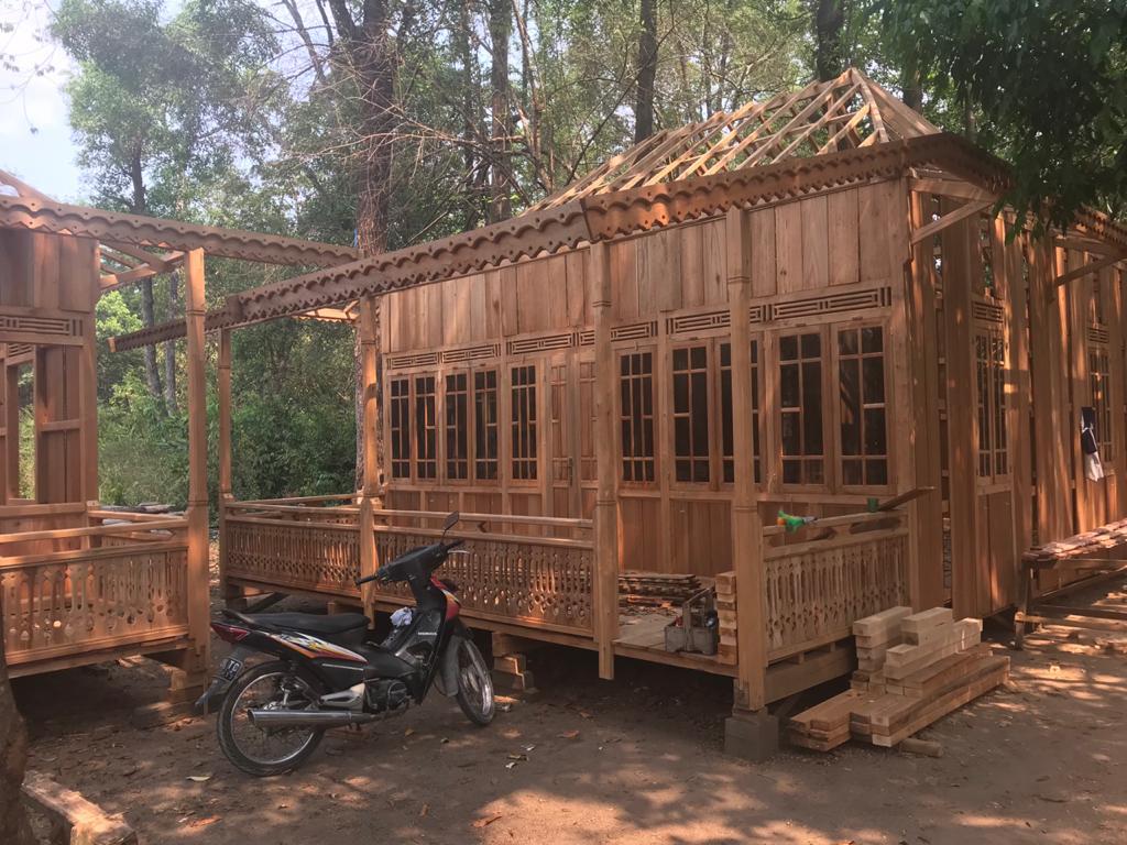 Rumah Kayu Palembang Rumah Limas Type 48 - Rizki Rumah ...